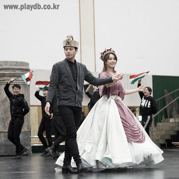 [포토스토리] '엘리자벳' 황후의 귀환, 옥주현·김소현·신영숙·박형식·정택운 연습현장