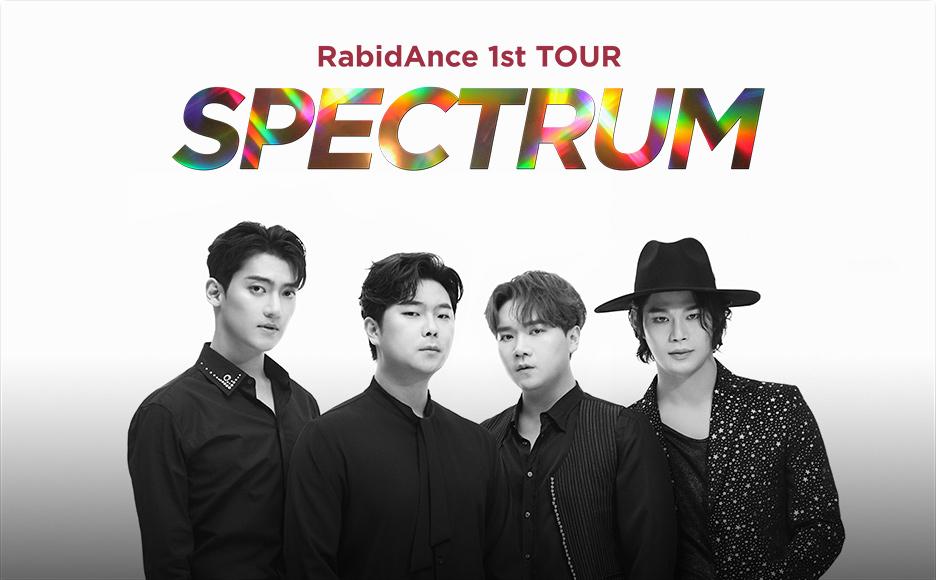라비던스 1st TOUR [SPECTRUM] IN 서울