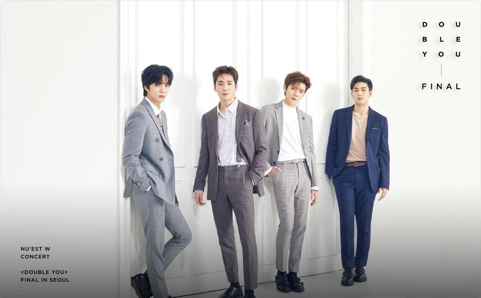 NU'EST W CONCERT 〈DOUBLE YOU〉 FINAL IN SEOUL