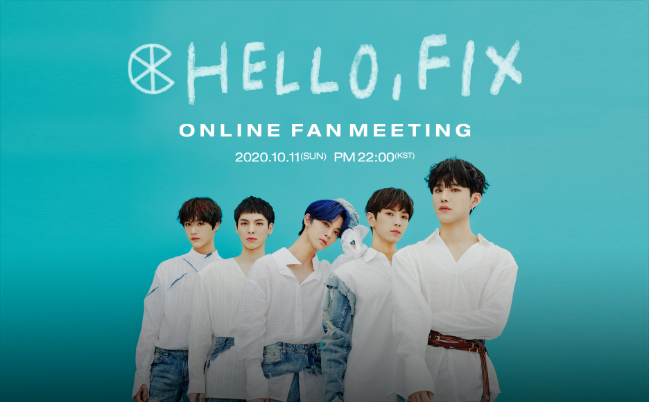 "2020 CIX 1ST ONLINE FAN MEETING ""HELLO, FIX"""