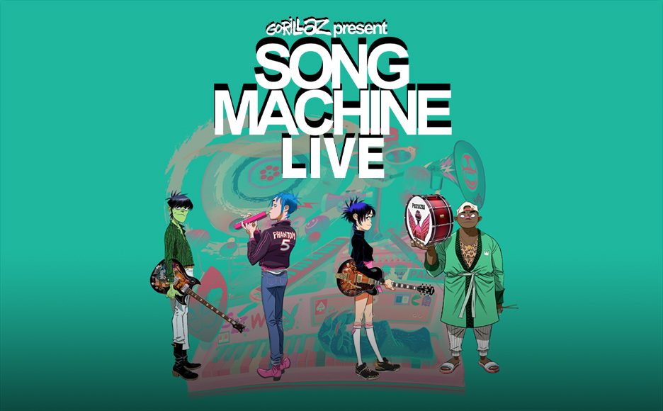 Gorillaz : Song Machine Live