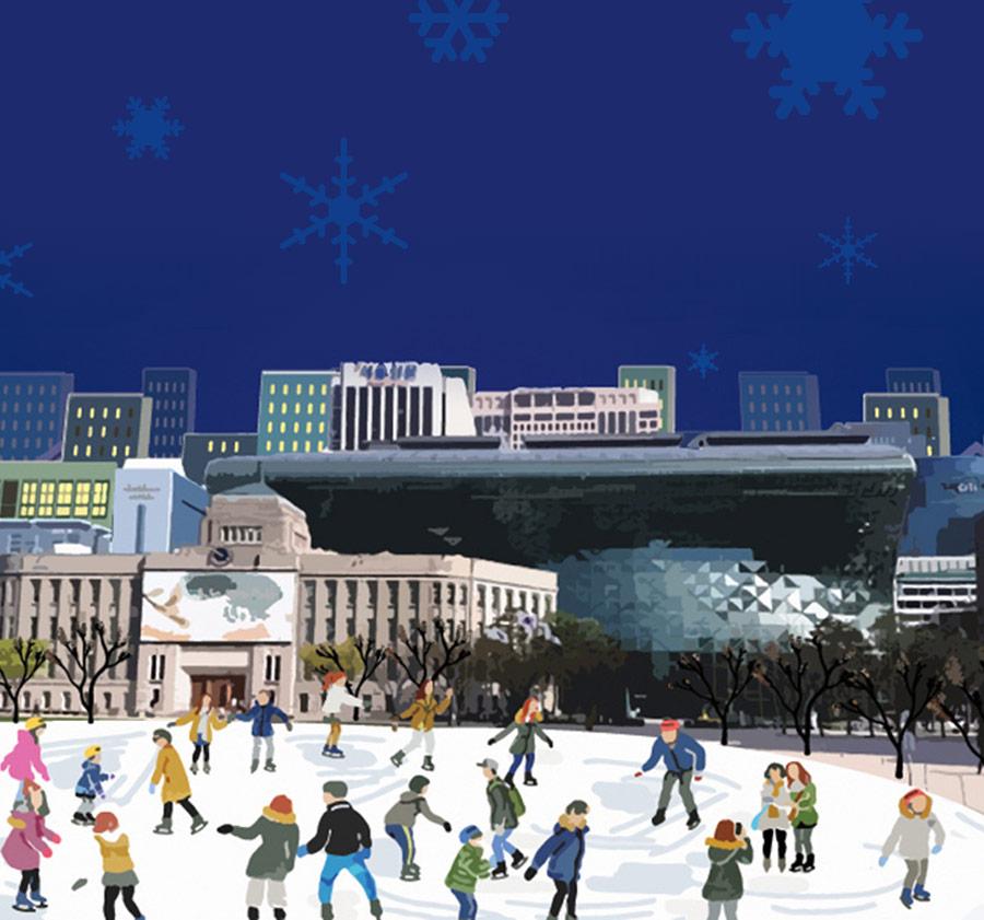 2019-2020 서울광장 스케이트장