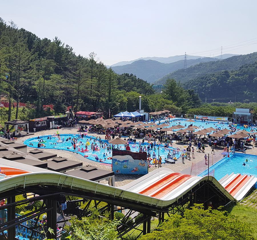 포천 베어스타운리조트 코코몽야외수영장