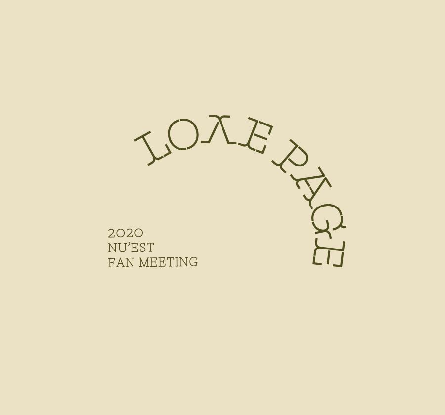 2020 NU'EST FAN MEETING 〈L.O.Λ.E PAGE〉 - ONLINE