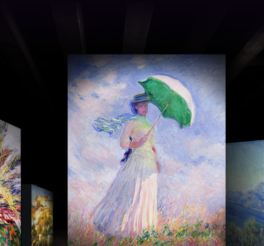 [얼리버드]빛의 벙커 : 모네,르누아르... 샤갈
