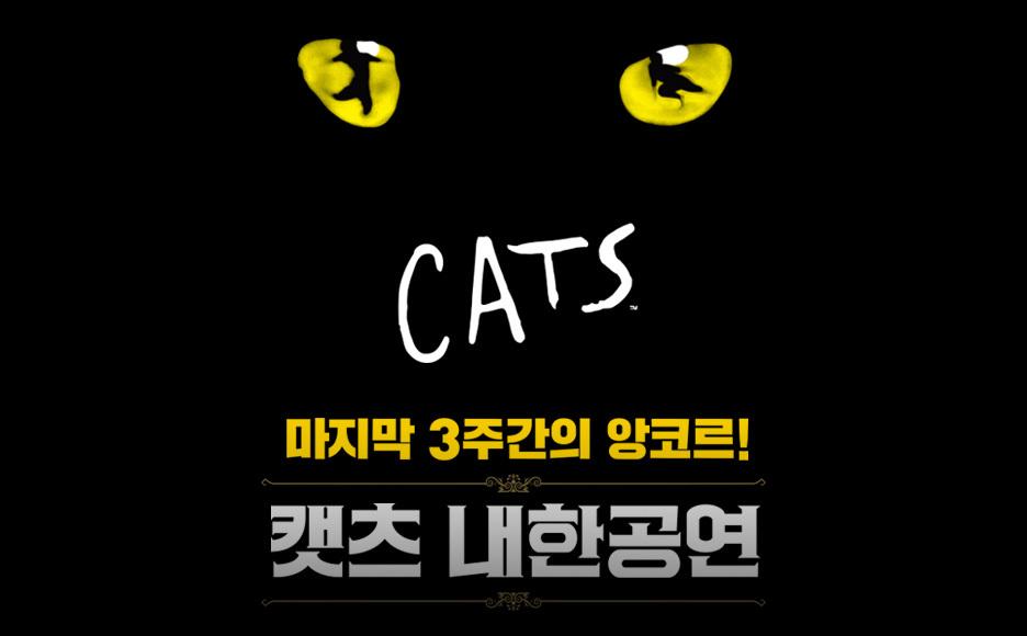 캣츠 내한공연 앙코르(Musical CATS)