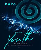 DAY6 1ST WORLD TOUR 'Youth' 티켓오픈 안내