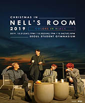 CHRISTMAS IN NELL'S ROOM 2019 [COLORS IN BLACK] 티켓오픈 안내