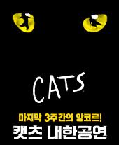 뮤지컬 〈캣츠〉 내한공연 앙코르 (Musical CATS) 티켓오픈 안내