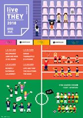 MPMG WEEK 2018 : live THEY - 라이프 앤 타임, 솔루션스, 칵스 티켓오픈 안내