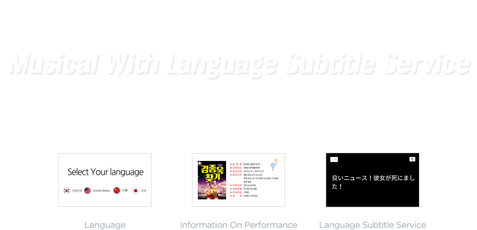 Musical With Language Subtitle Service