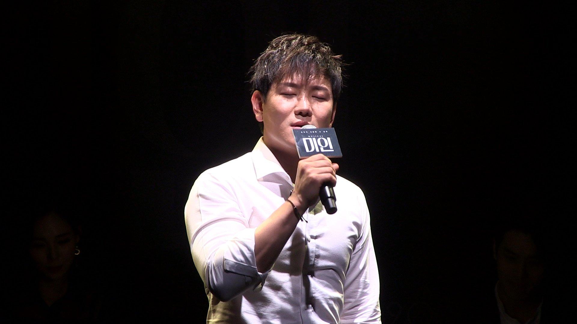 '미인' 쇼케이스 '떠나야 할 그 사람 / 봄비' - 정원영, 이승현, 김찬호